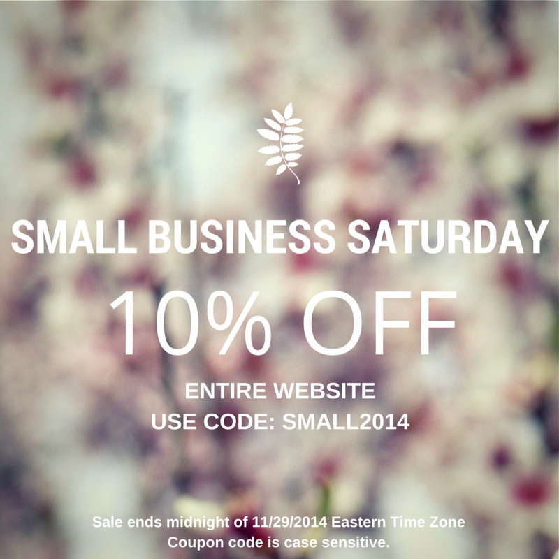 Small Business Saturday Sale(1)
